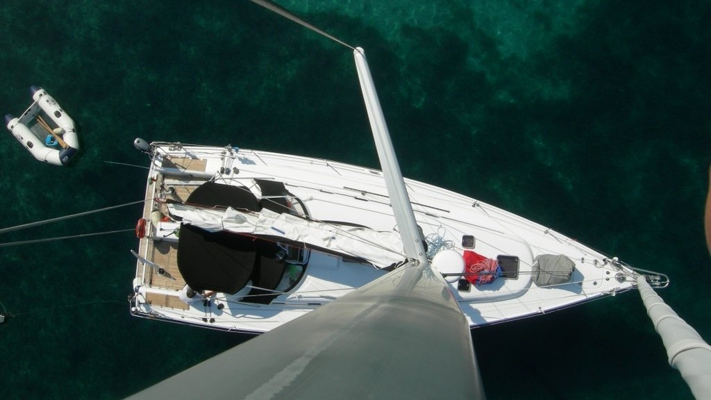barca vela fast cruiser crociera veloce testa d'albero