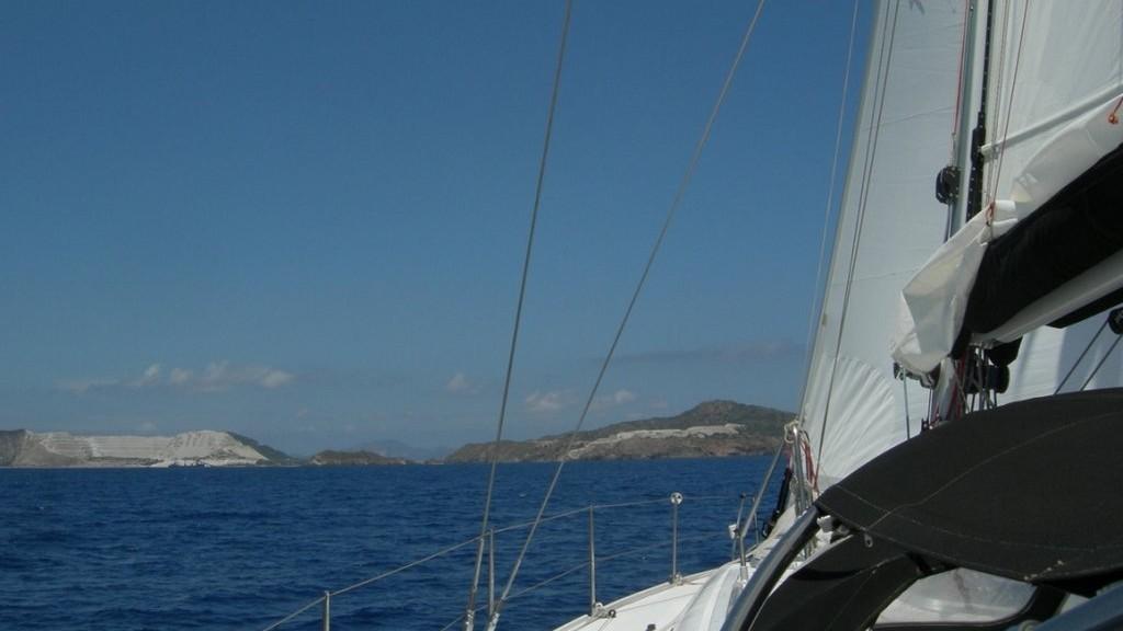Crociera in barca vela a isola di Gyali Dodecaneso Grecia