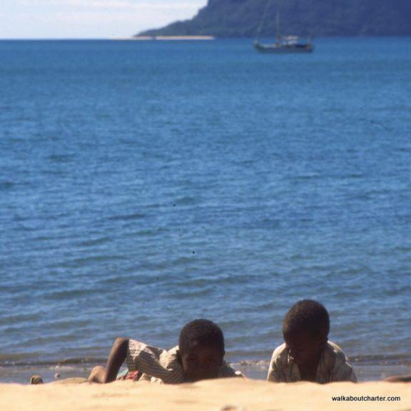 Madagascar spiaggia e barca